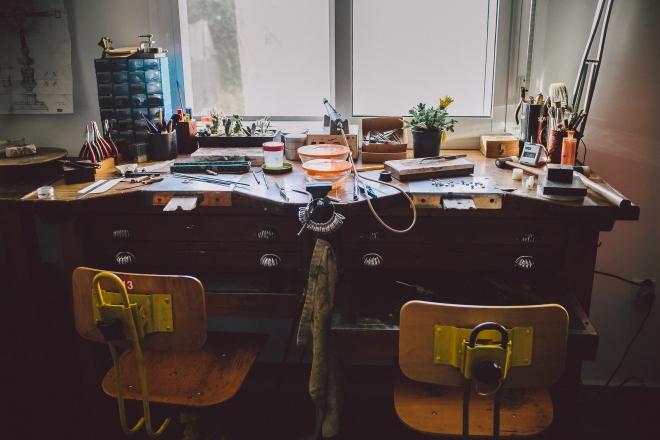mesa de creaciones