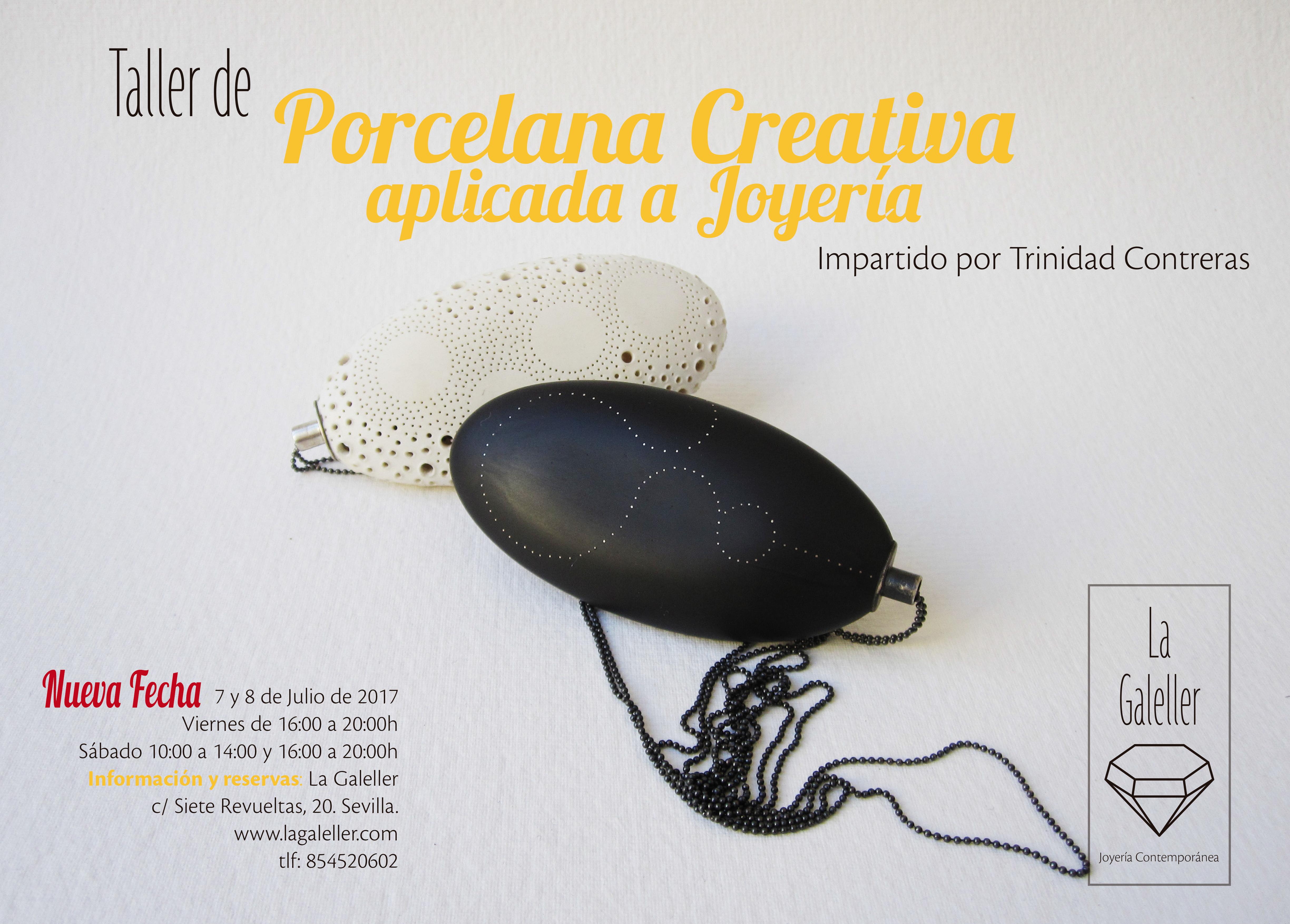 Porcelana Creativa en Joyería